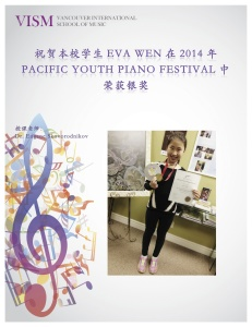 Eva 2014 pacific youth 2nd place